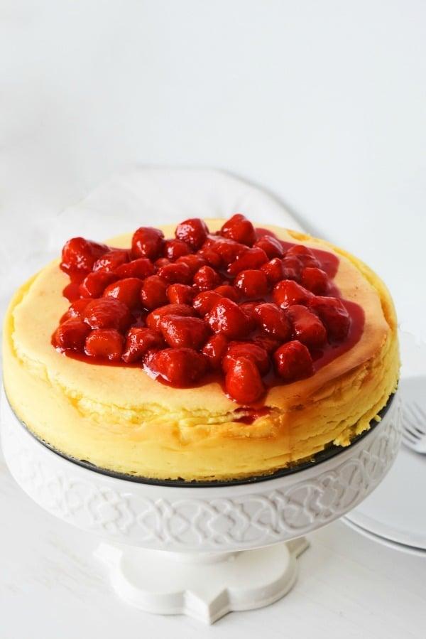 No crust cheesecake1