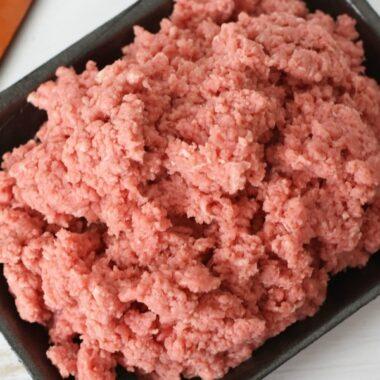 Ground Sirloin Meat