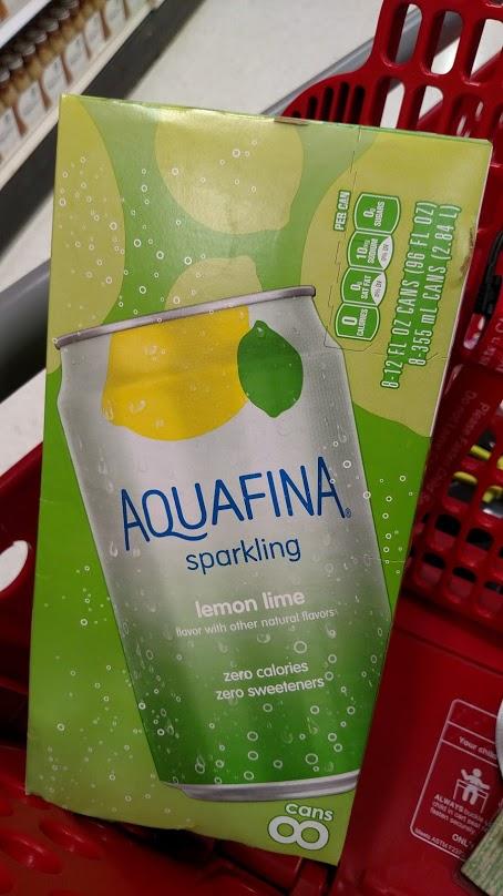 Aquafina Sparkling at Target