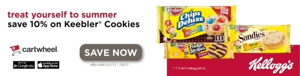 Cartwheel Keebler deal