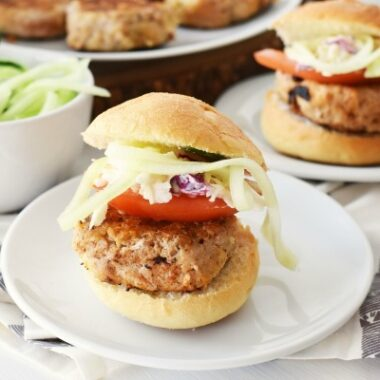 Healthier Turkey Burger Sliders1