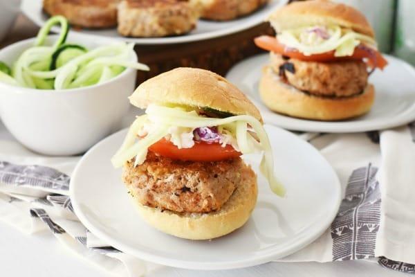 Healthier Turkey Burger Sliders1