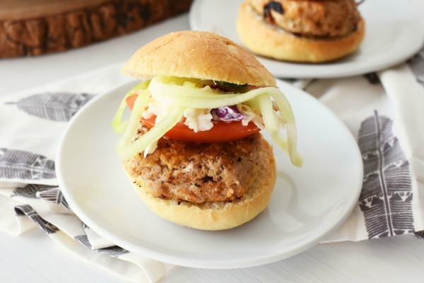 Healthier Turkey Slider