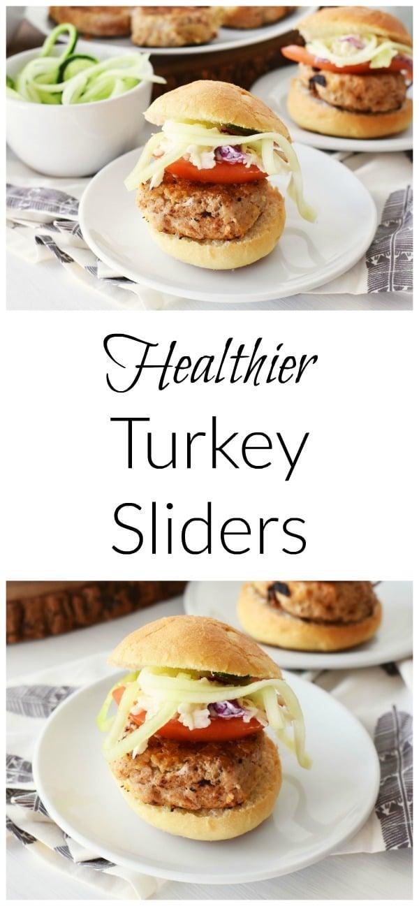 Healthier Turkey Sliders
