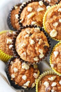 Healthier Carrot Cake Muffins Made with Love
