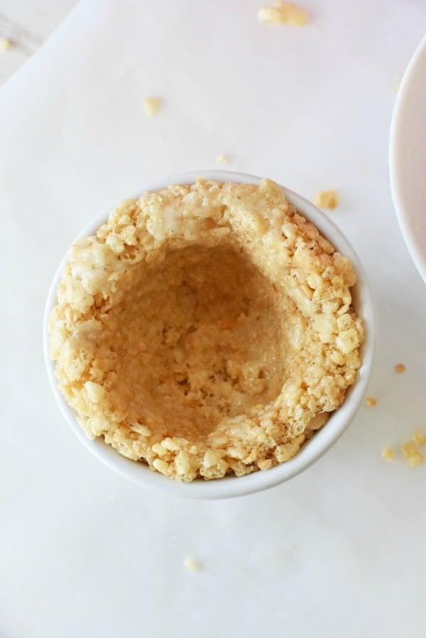 Rice Krispies Treat Ice Cream Bowl1