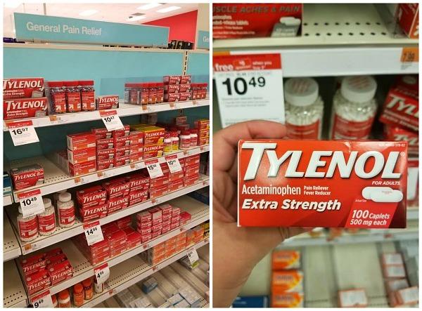 Tylenol at Target deal