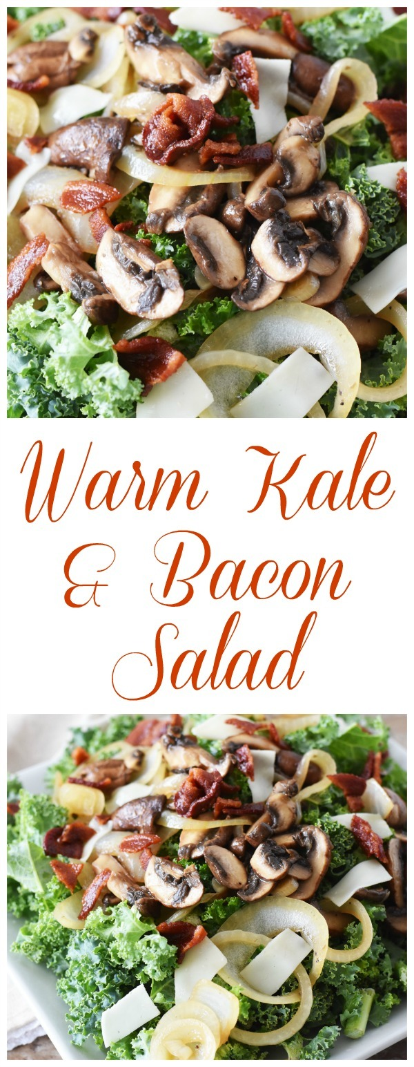Warm Kale and Bacon pin