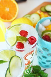 5 of the Prettiest Fruit Water Ideas Ever
