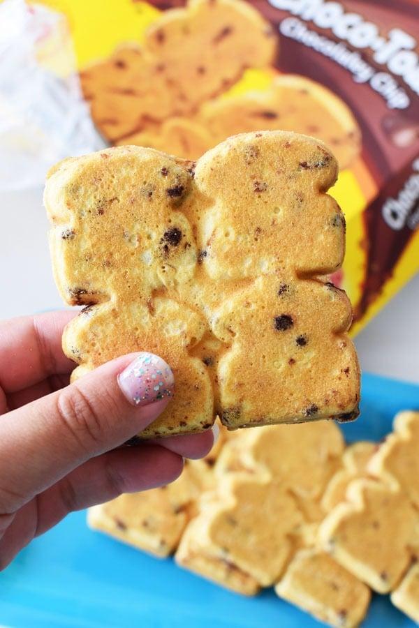 Eggo Choco Toast