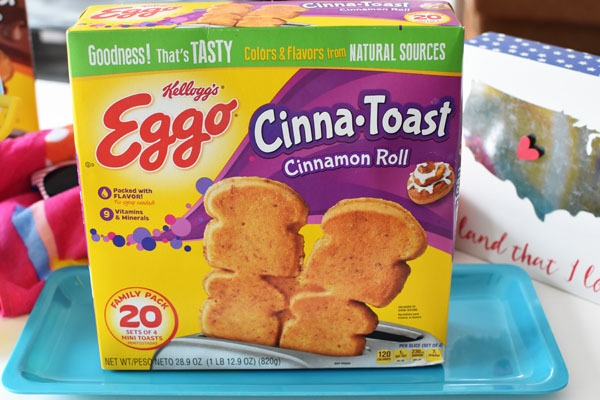 Eggo Cinna Toast
