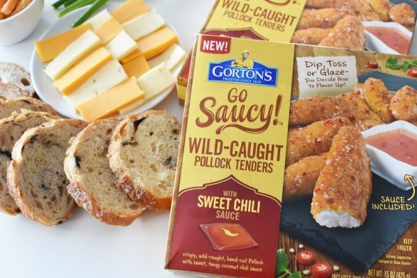 Go Sauc y Wild Caught Pollock Tenders
