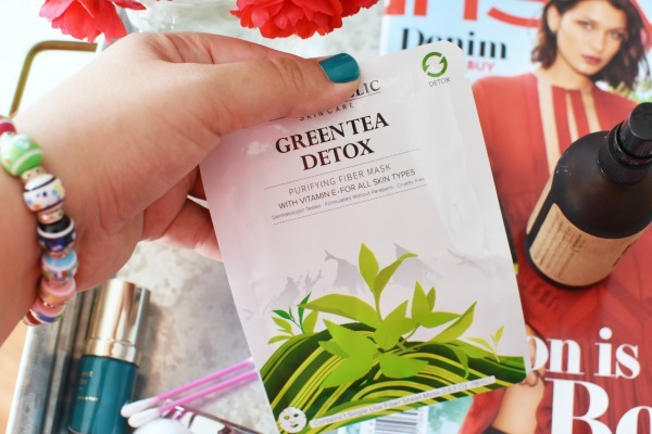 Green Tea Sheet Mask