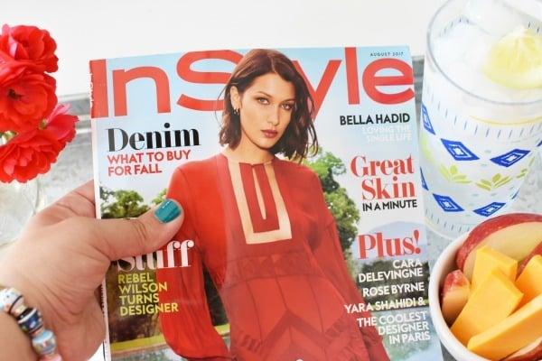 InStyle August Magazine