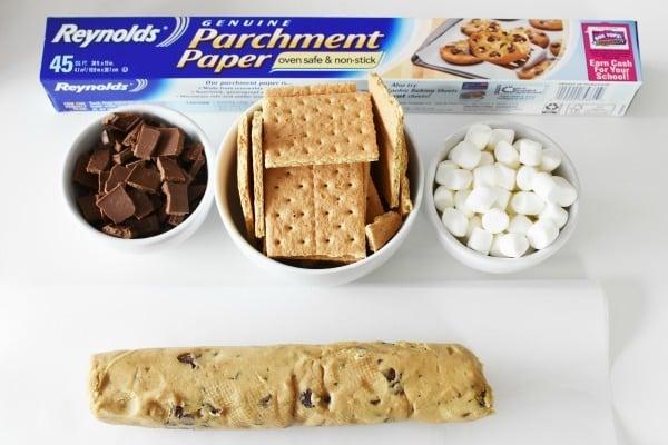 Smores cookies ingredients