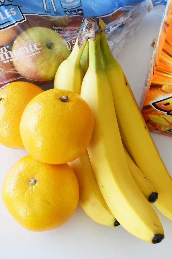 oranges and bananas