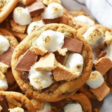 quick Smores cookies