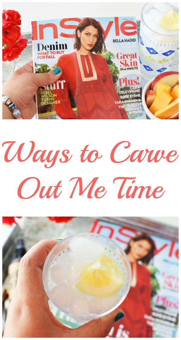ways to carve out me time