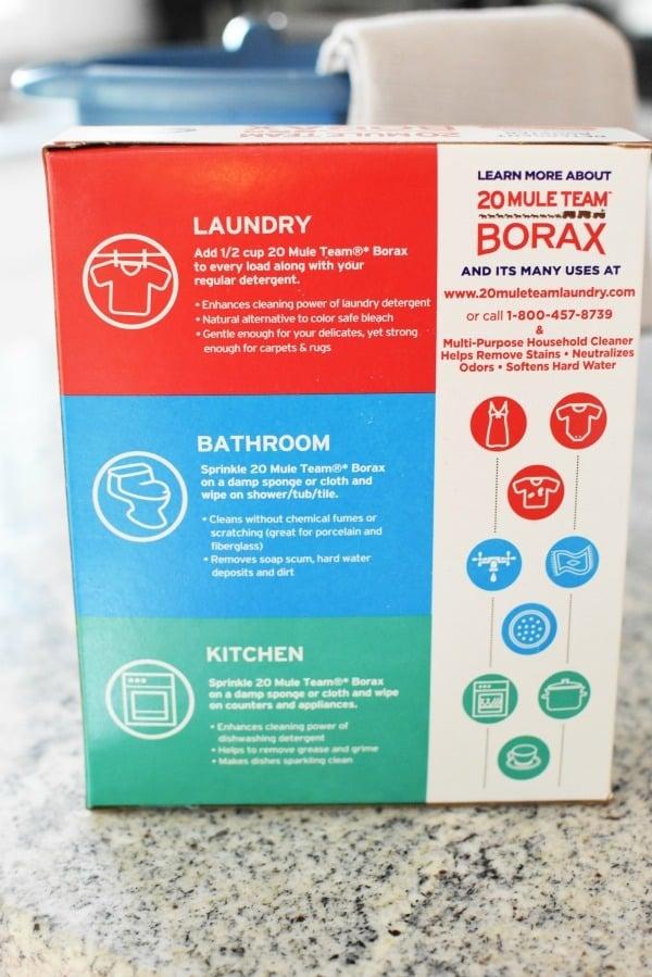 Borax product uses