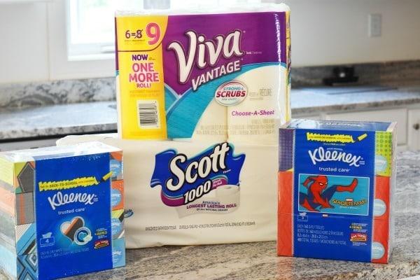 Box Tops with Kleenex