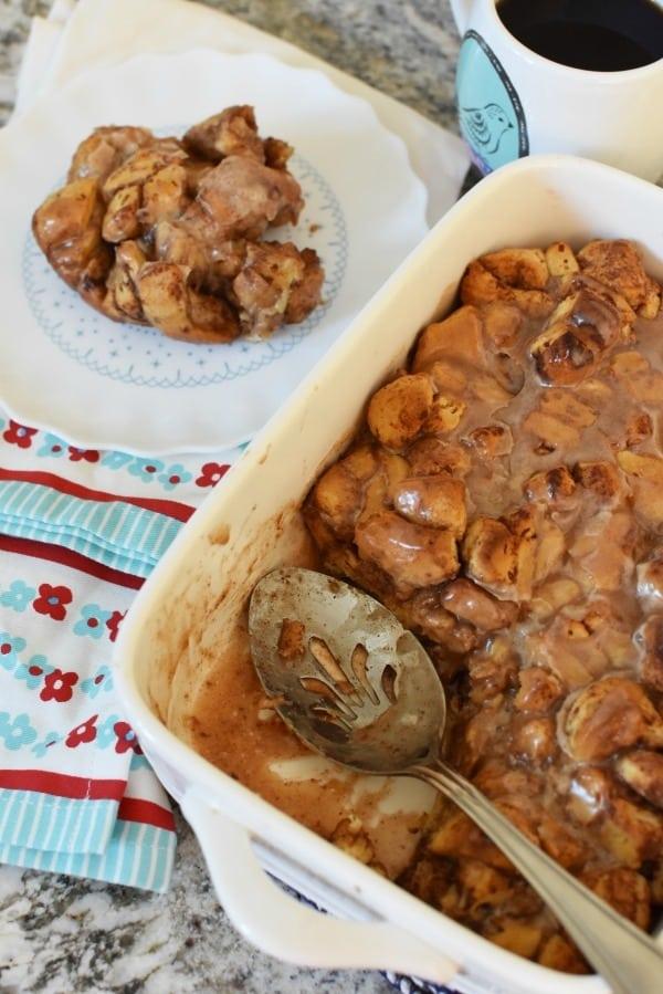 Cinnamon Bun Bake