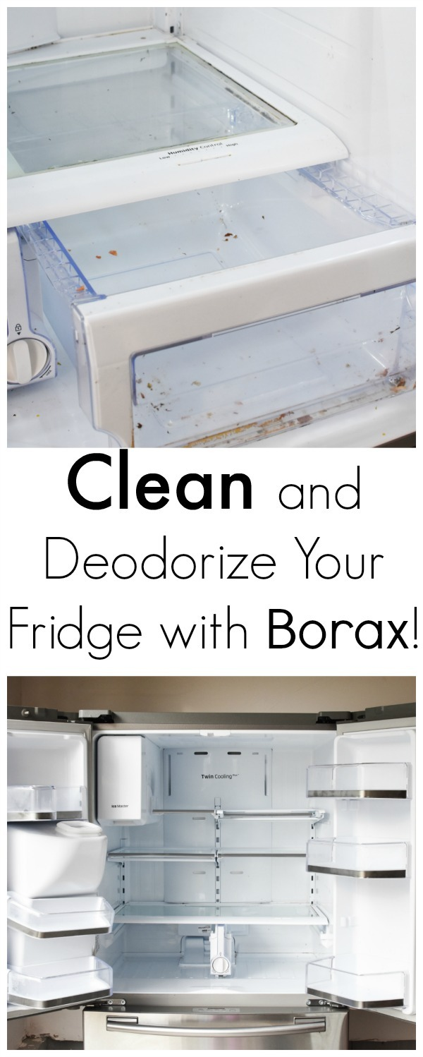 Clean and Deodorize Your Refridgerator with Borax