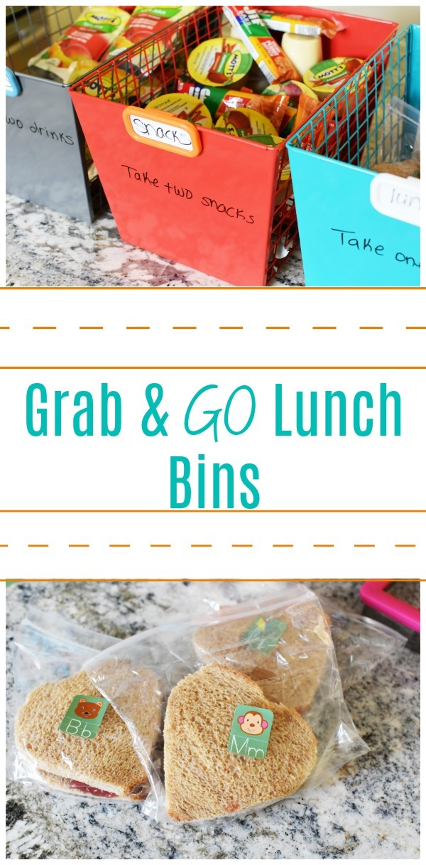 Grab and Go Lunch bins