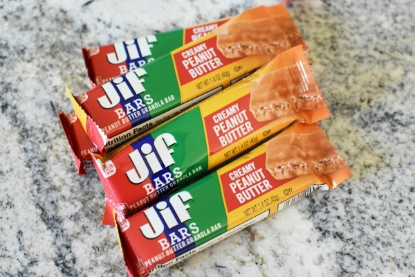 Jiff Bars on counter
