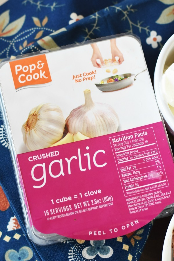 Pop and Cook Garlic minced