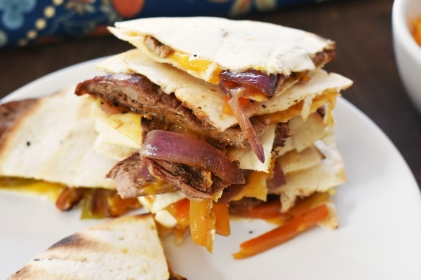 Steak Quesadilla Meal