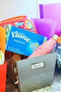 Back to School Crate Organizers for Snacks and More!