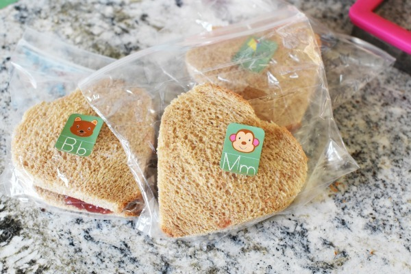 heart-shaped peanut butter sandwiches1