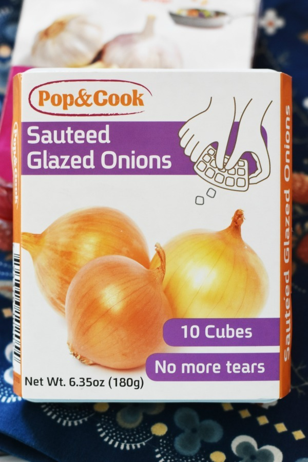 pop and cook sauteed onions
