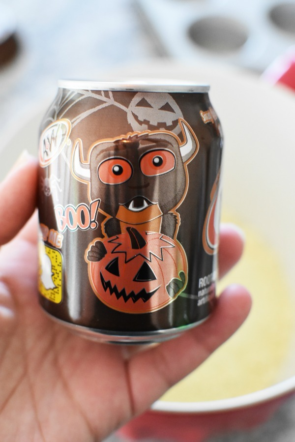 A&W Mini Monster cans
