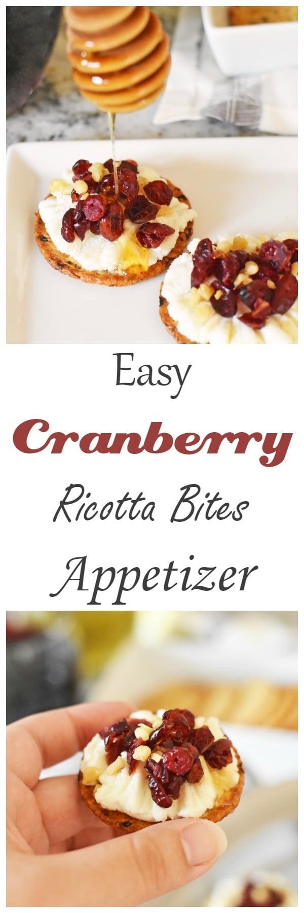 Easy Ricotta Bites Appetizer