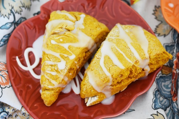 Iced Pumpkin Scones Recipe1