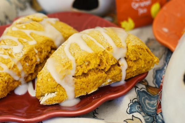 Iced Pumpkin Scones1