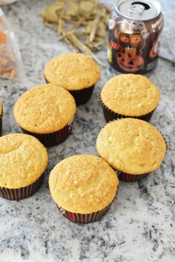 Rootbeer Soda cupcakes