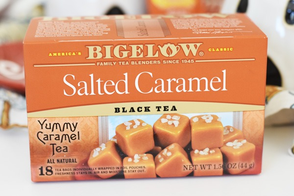 Salted Caramel Tea