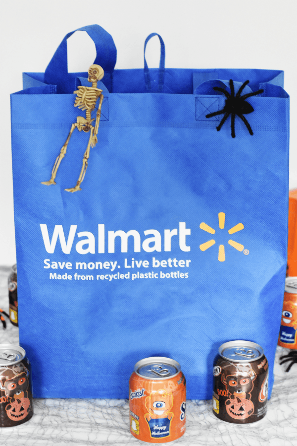 Walmart blue shopping bag