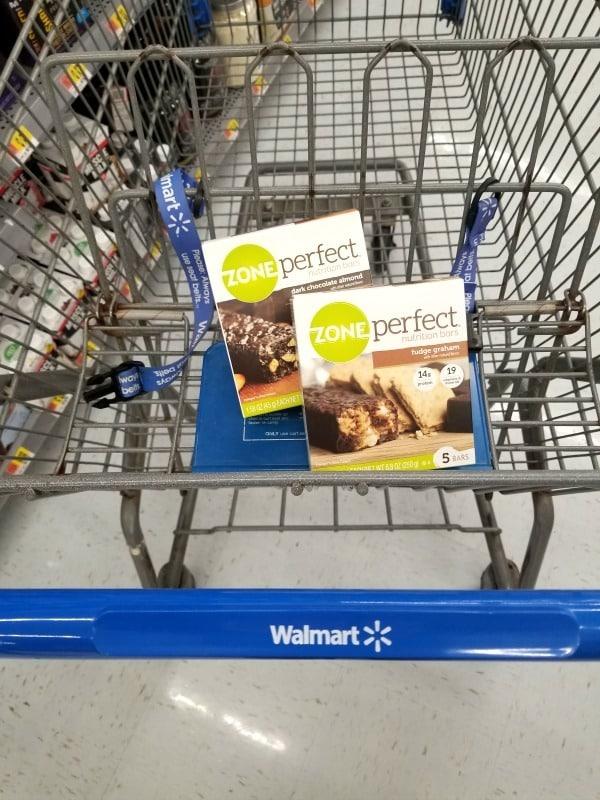 ZonePerfect Bars at Walmart