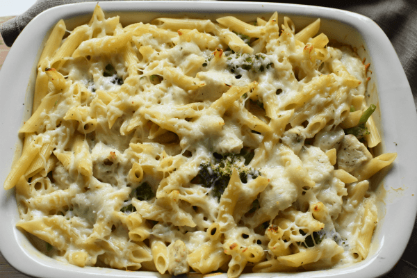 Baked Chicken Alfredo