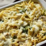 Chicken alfredo bake1