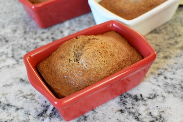 Mini Pumpkin bread loaf1