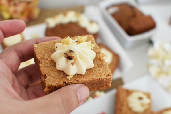 Pumpkin Brookie with maple frosting1