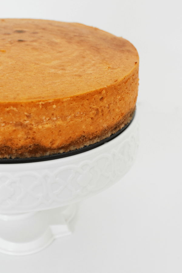 Pumpkin cheesecake dessert1