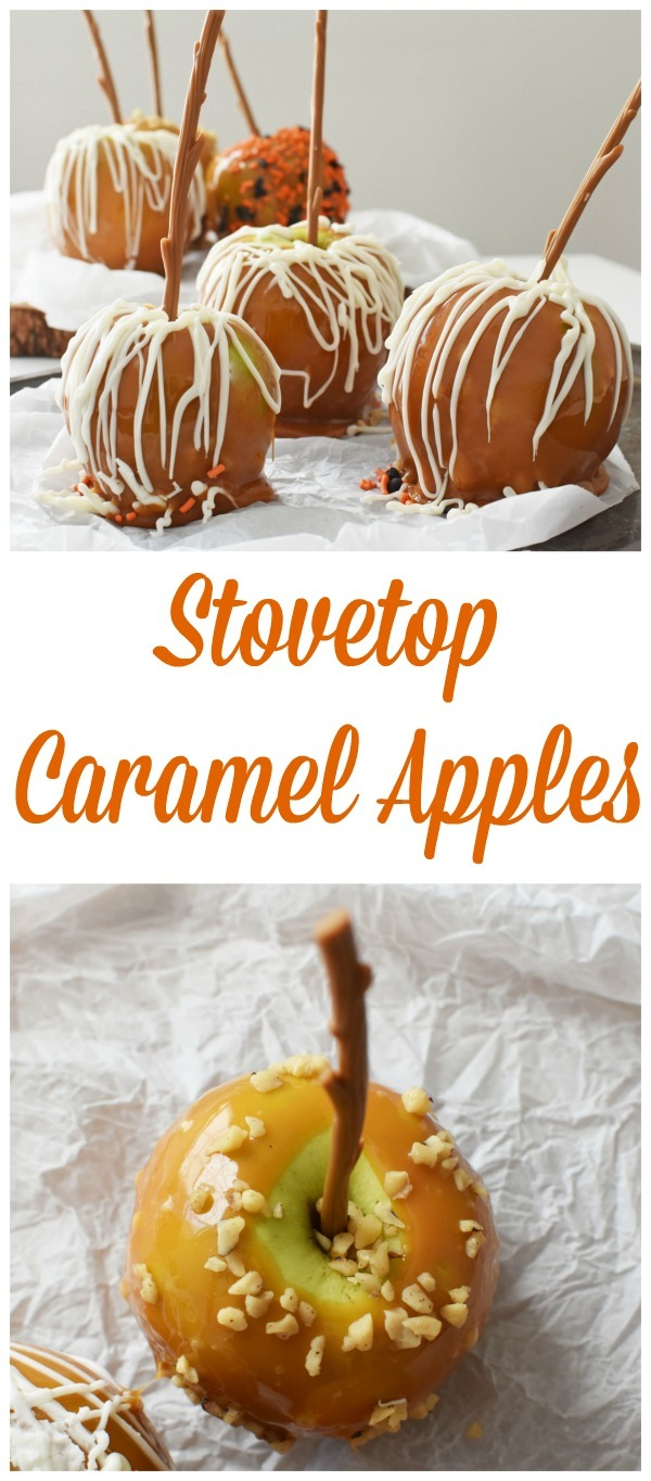 Stovetop Caramel Apples Recipe. Learn how to make your candy apples using melted caramel on the stovetop.