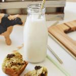 Avocado Banana Muffins with Milk1