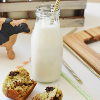 Avocado Banana Muffins with Milk1