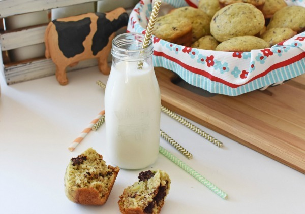 Avocado Muffins with milk1